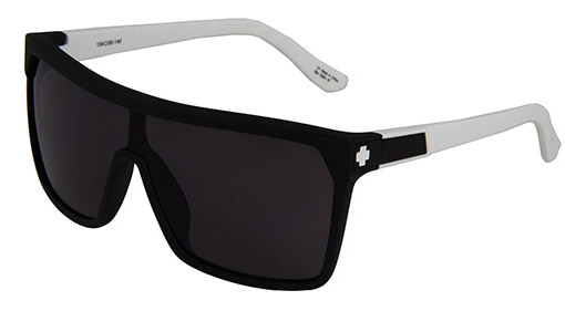 Spy Optic Flynn Matte Ebony black sunglasses- blaque colour