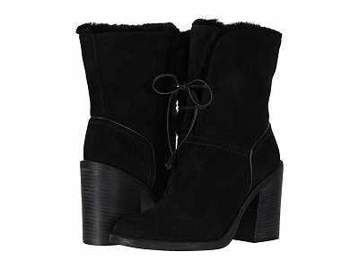 Ugg Jerene classy winter blaque tie boots What To Wear 2019- blaque colour